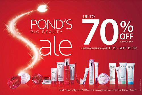 ponds-big-beauty-sale