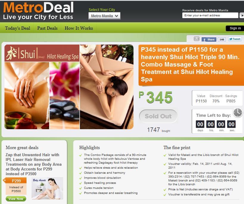 rich spa hilot deals