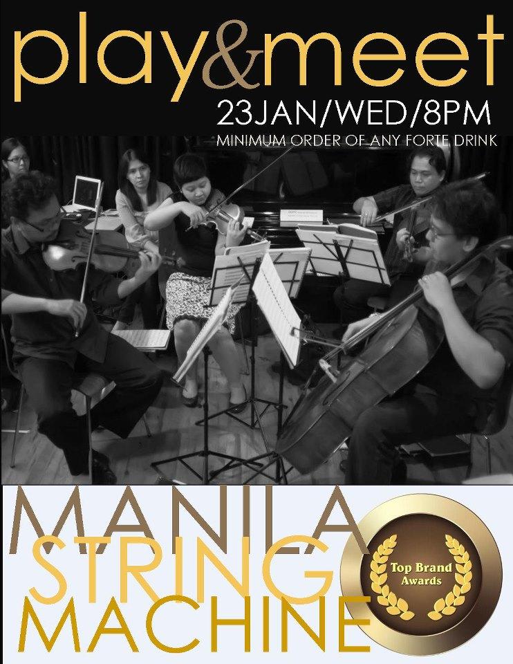 Top Brand Awardee Manila String Machine