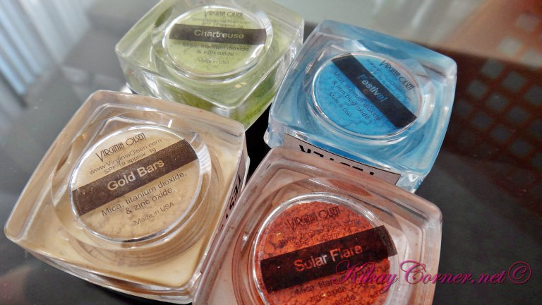Virginia Olsen Minerals eyeshadows