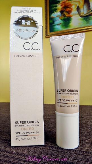 nature republic cc cream tinted