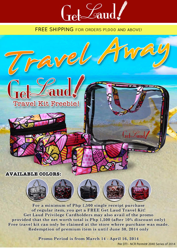 Get Laud Travel Kit Freebie
