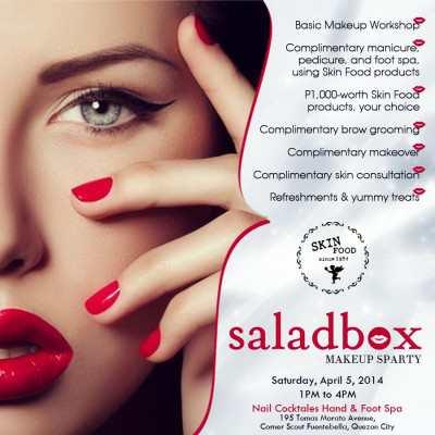 Saladbox Skin Food Sparty April 5