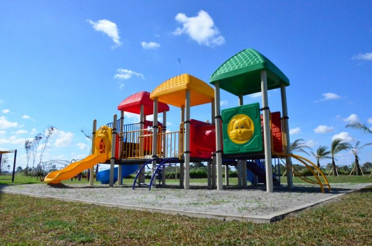 Lancaster New City playground