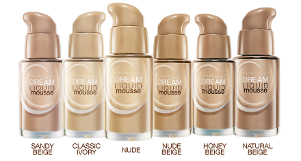 Maybelline Dream Liquid Mousse Shades