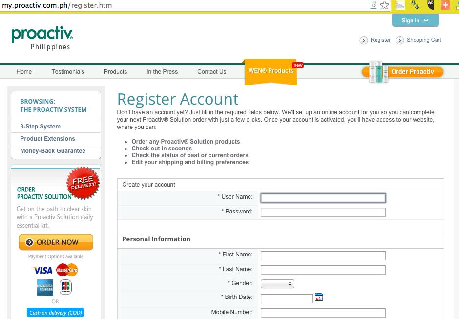 buy Proactiv online