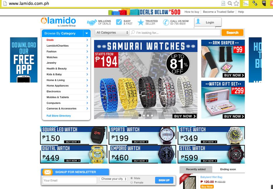 lamido screenshot