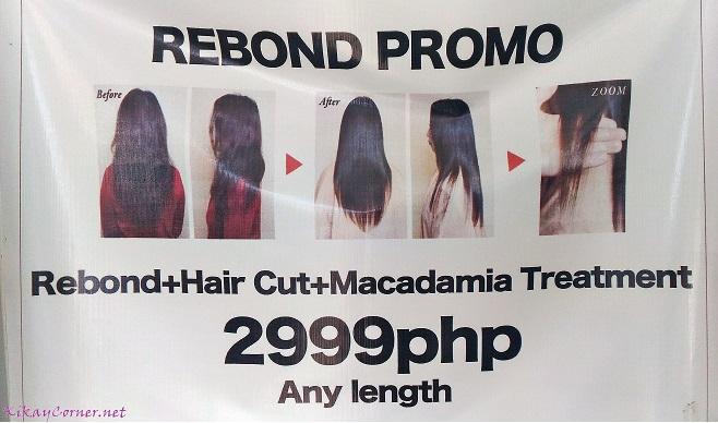 akira salon hair rebond promo