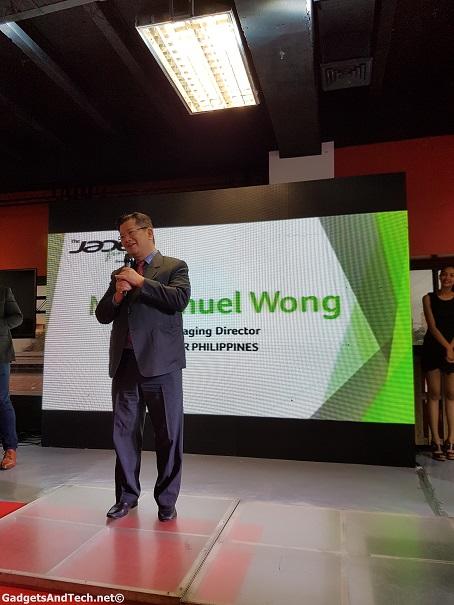 mr wong acer
