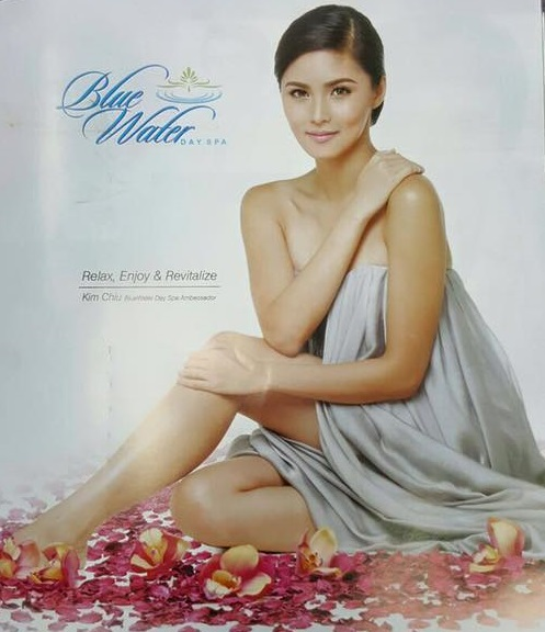 kim chiu for bluewter day spa