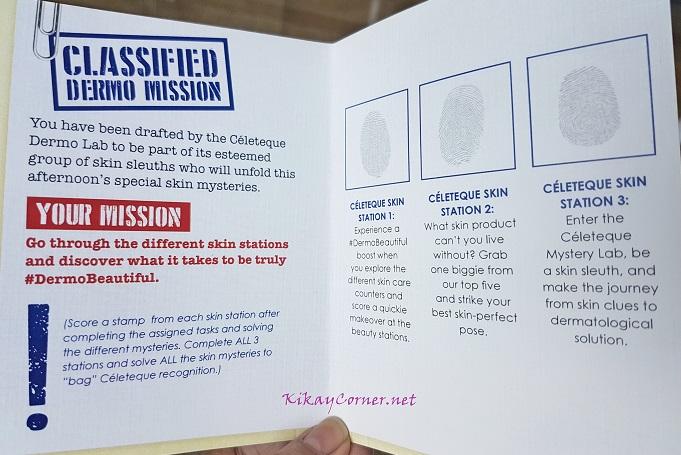 Celeteque Dermo Mission list
