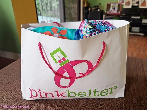 pinkbelter shopping bag