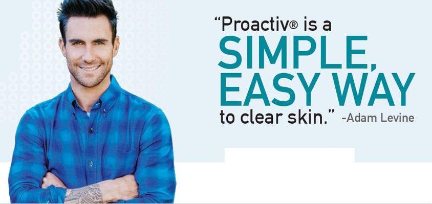 Adam Levine for Proactiv