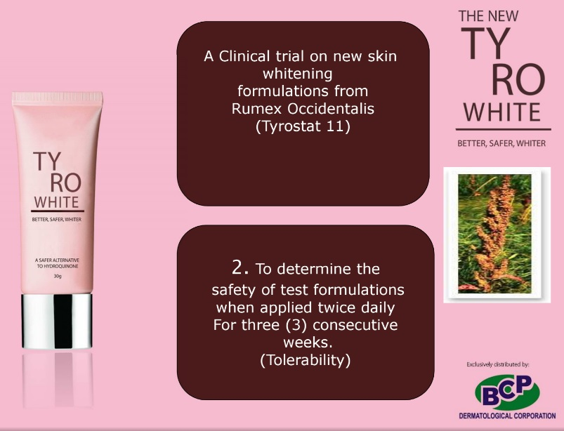 Tyro white clinical trial