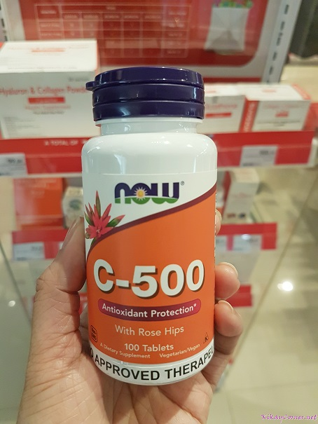 Now C-500 Vitamin C with Rose Hips
