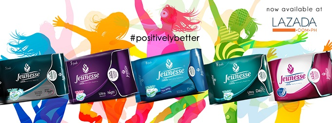 Jeunesse Anion Sanitary Napkins and Liners