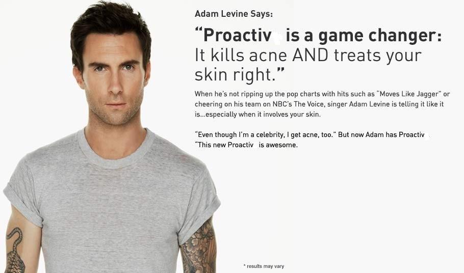 Proactiv Adam Levine