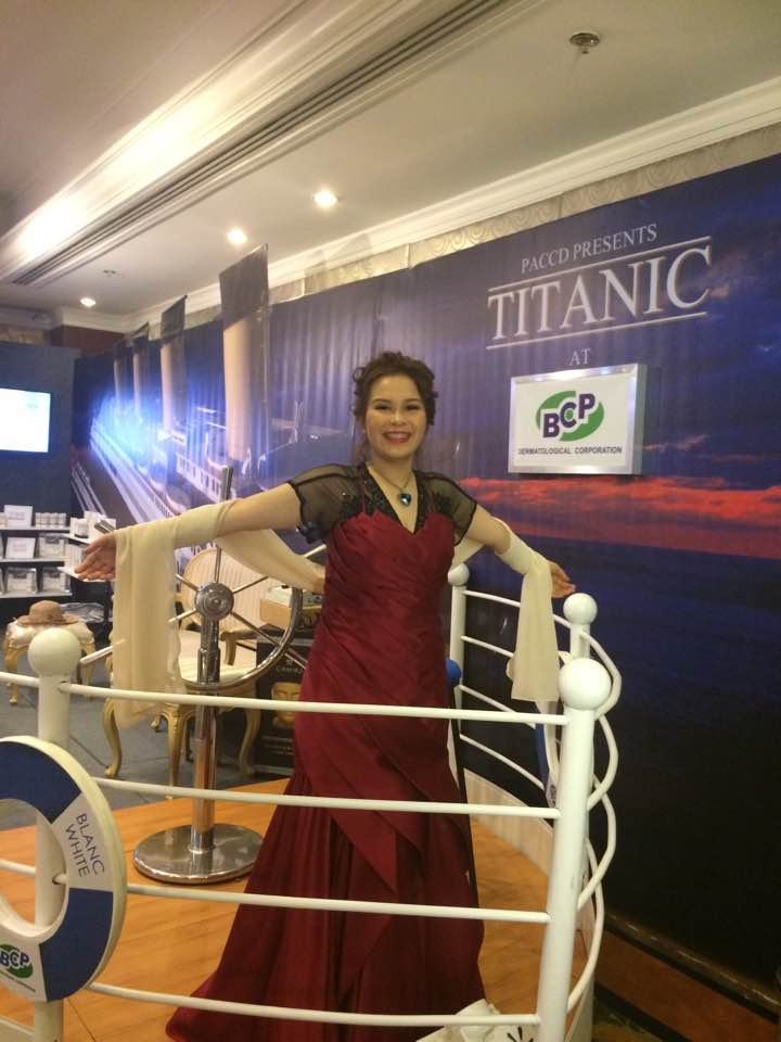 titanic theme bcp dermatological convention