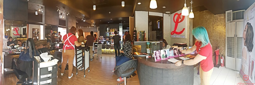 inside of Lifestyle Salon by Louis Kee