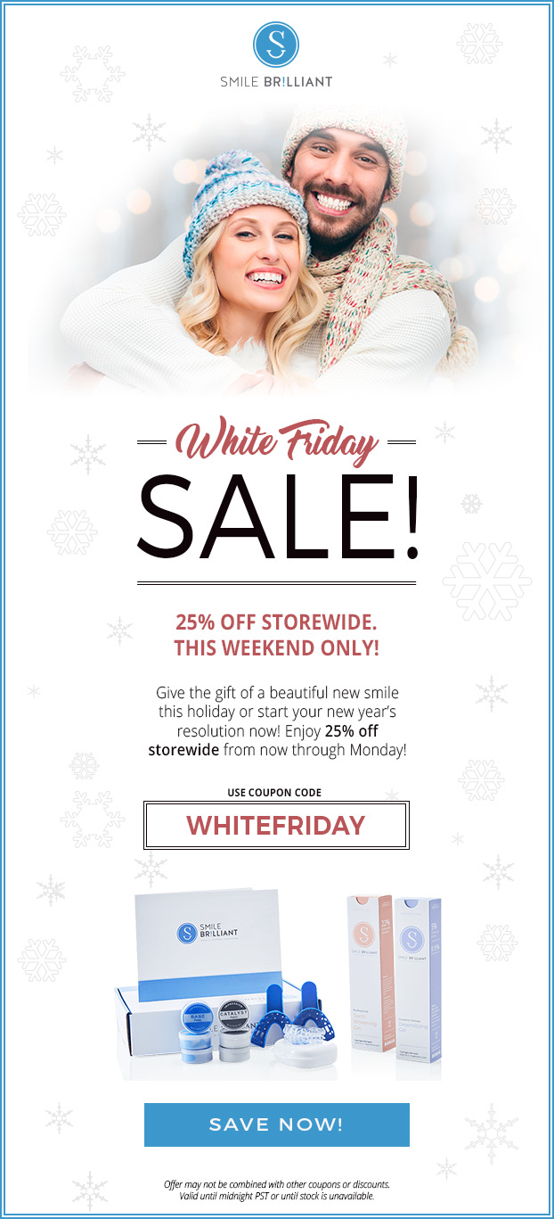smile brilliant white-friday-sale