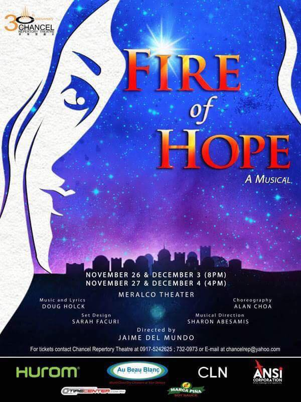 fire of hope musical