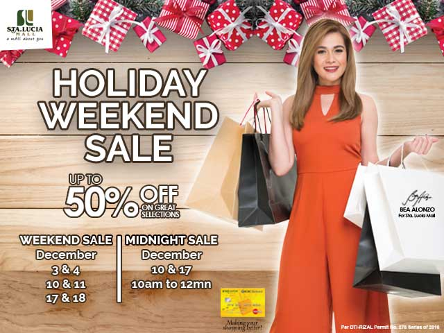 december-weekend-sale