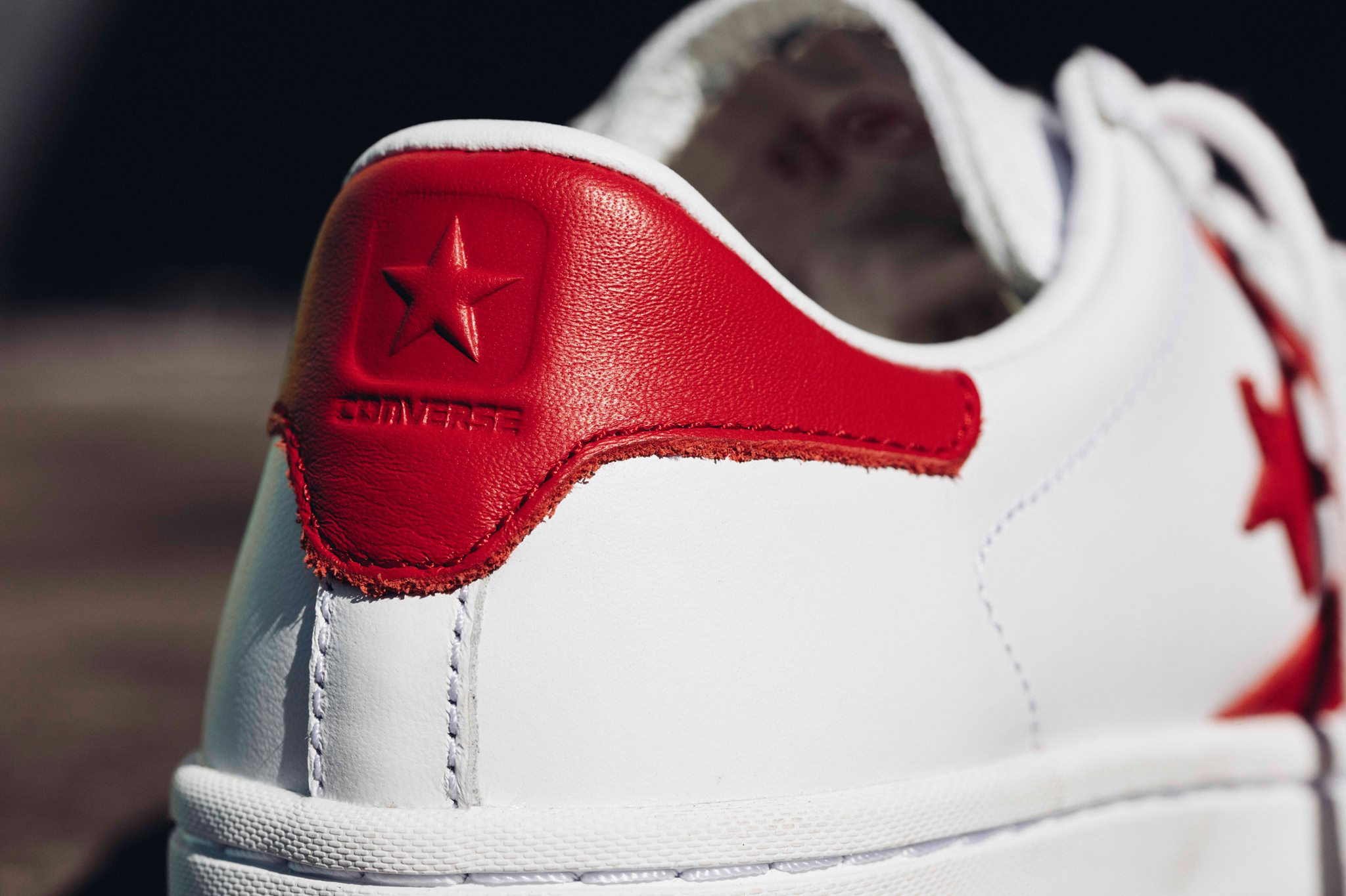 Converse Cons Pro Leather LP Leather Red