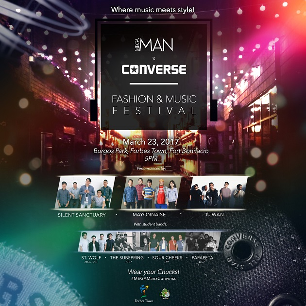 #MEGAManxConverse Music and Fashion Festival 2017