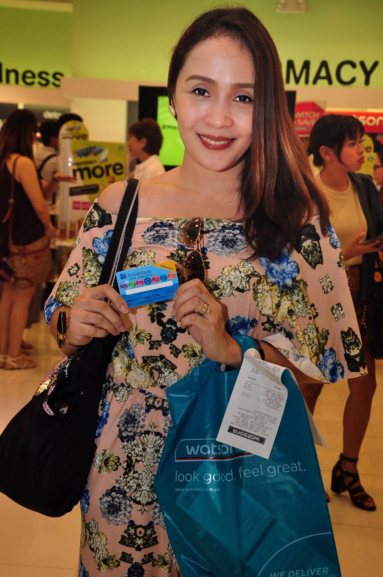 jen aspacio at the members get more at watsons launch