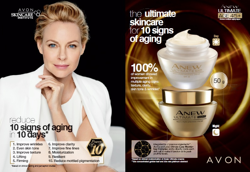 Avon Ultimate the ulitmate skincare for signs of aging