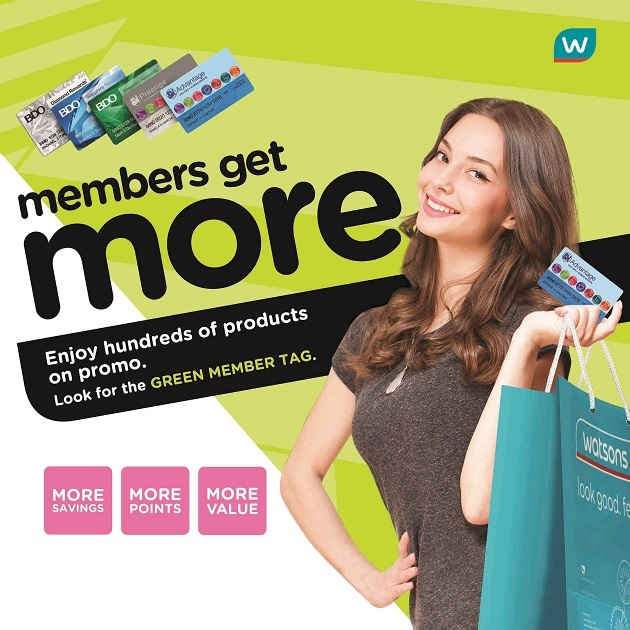 Watsons Members Get More