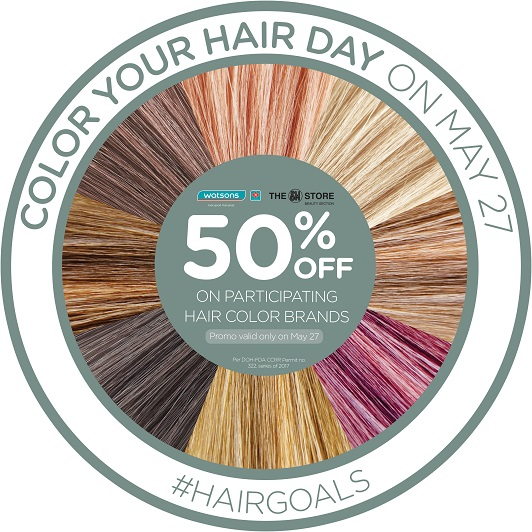 #HairGoals Color Your Hair Day on May 27