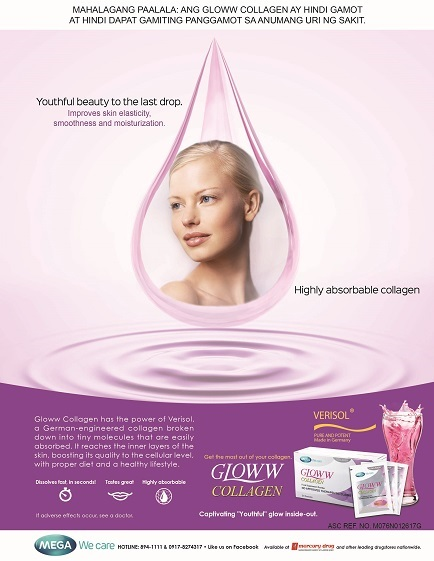 Gloww collagen drink
