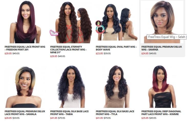 freetress wigs