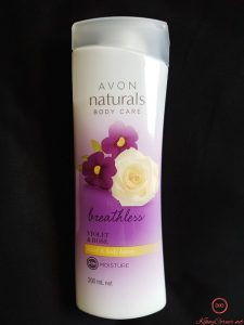 avon natural lotion
