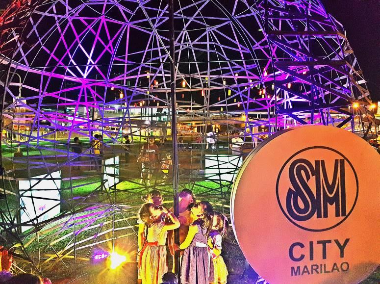 SM Malls e-LluminART Globe