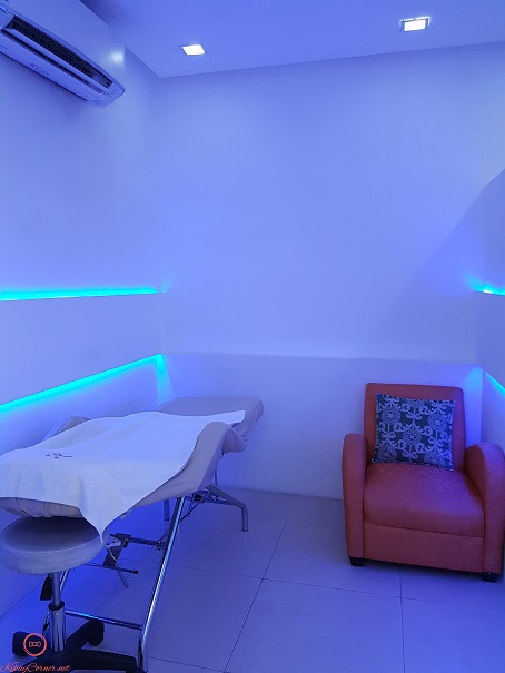 Kutis Filipina treatment room