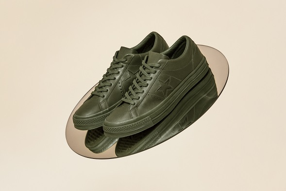 One Star Collection with Engineered Garments OLIVE