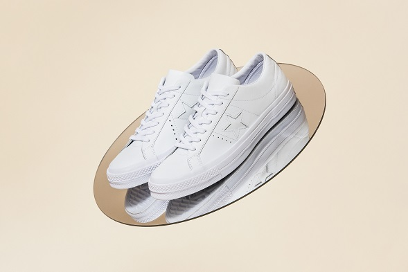 One Star Collection with Engineered Garments WHITE