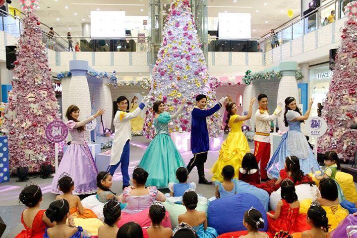 Disney Princesses SM City Masinag