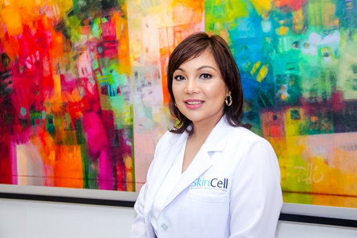 Dr. Clarissa Cellona, MD FPDS, Senior consultant of SkinCell Advanced Aesthetics Clinics.