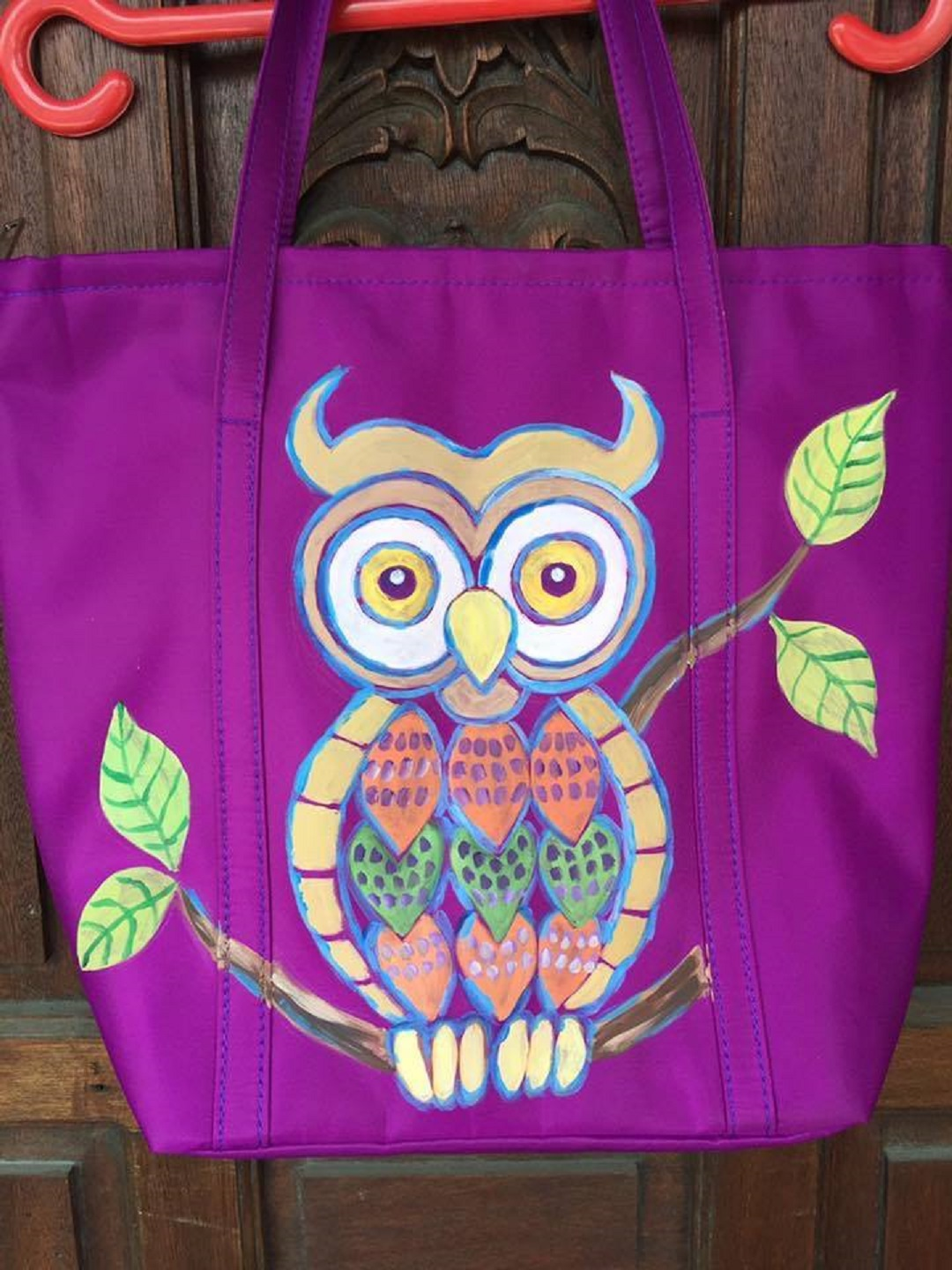 Ginny Guanco artist The Owl