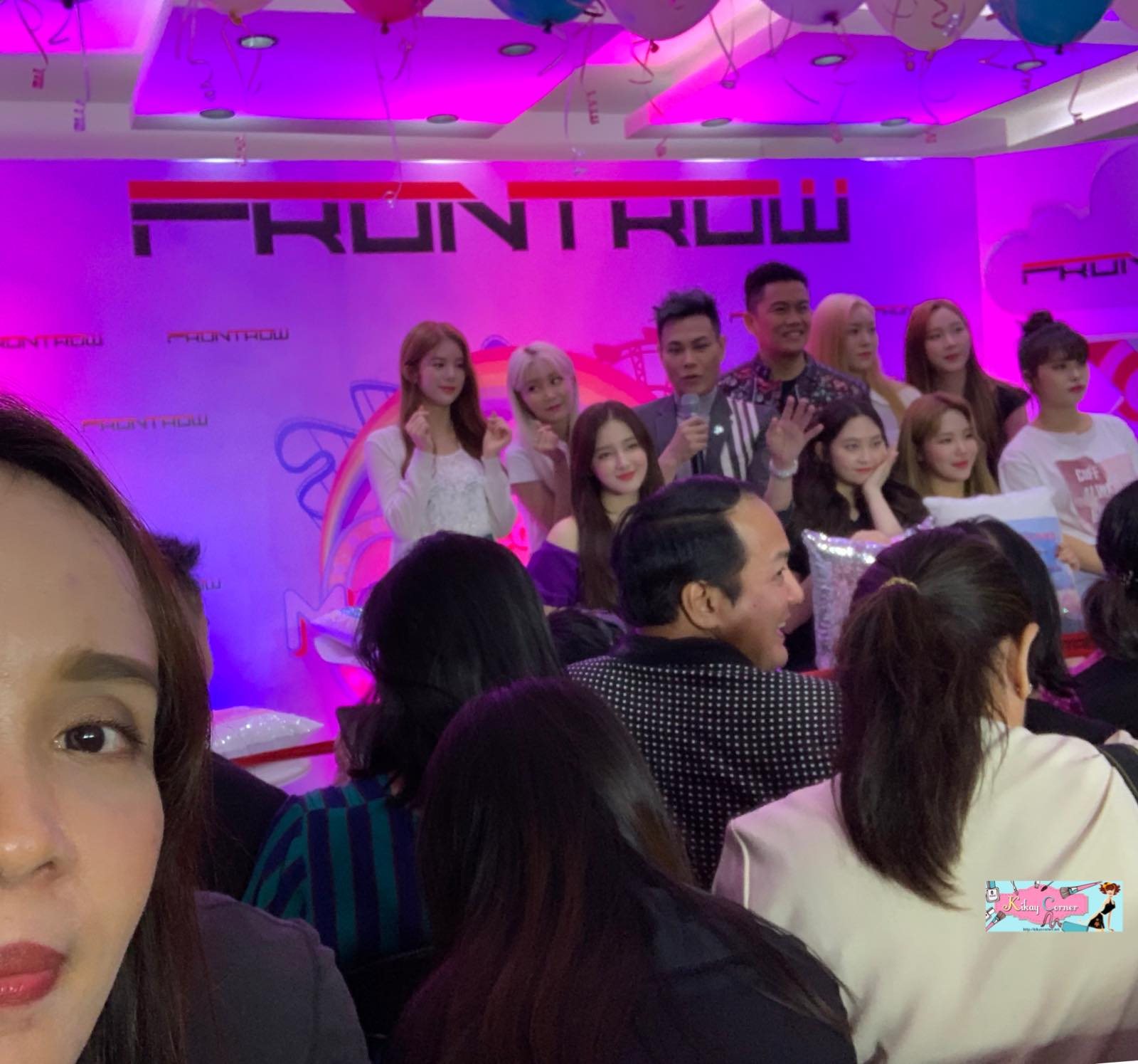 kikaycorner with momoland