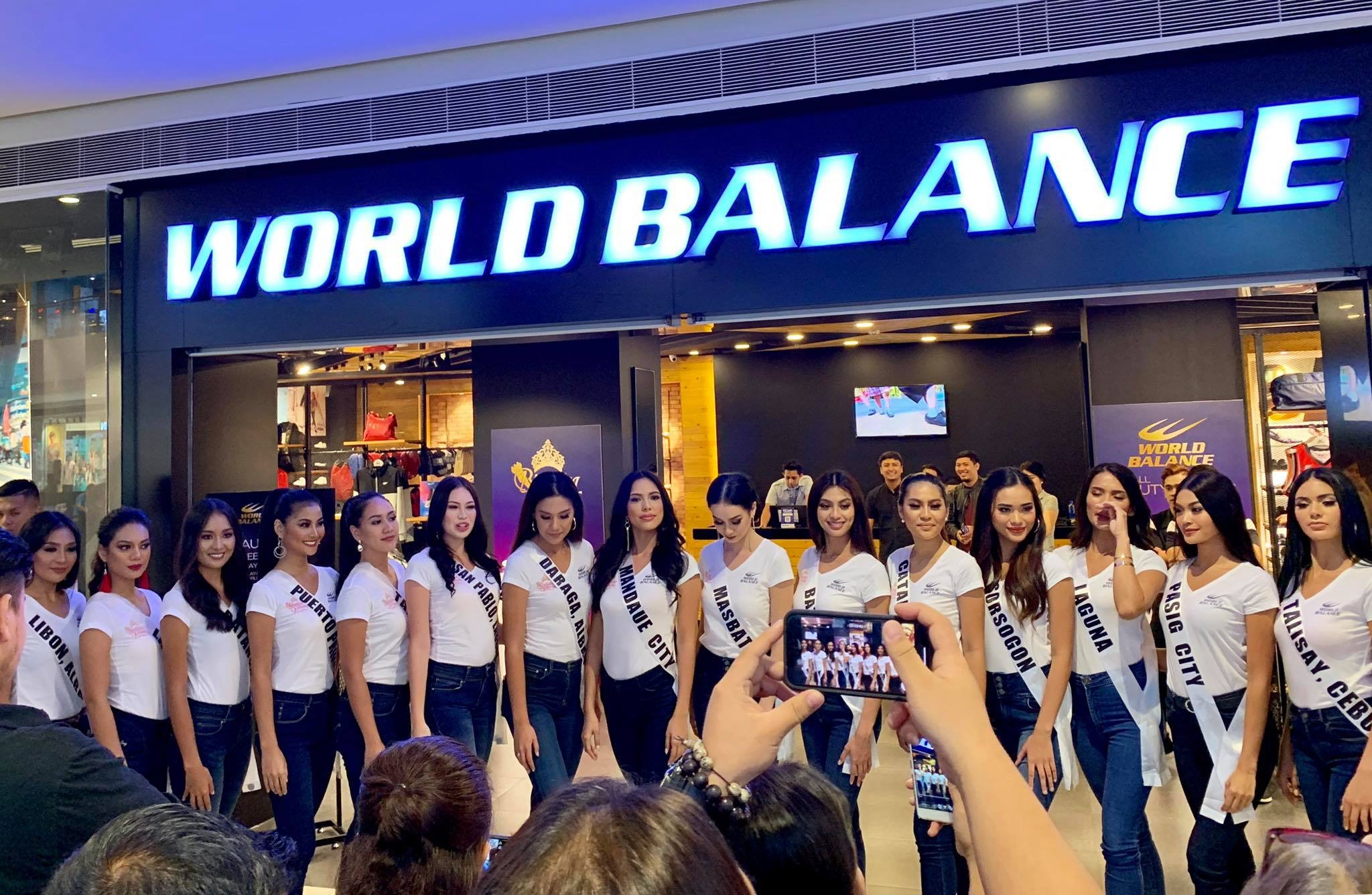 Binibining Pilipinas Finalists for World Balance #BeautyAndSole