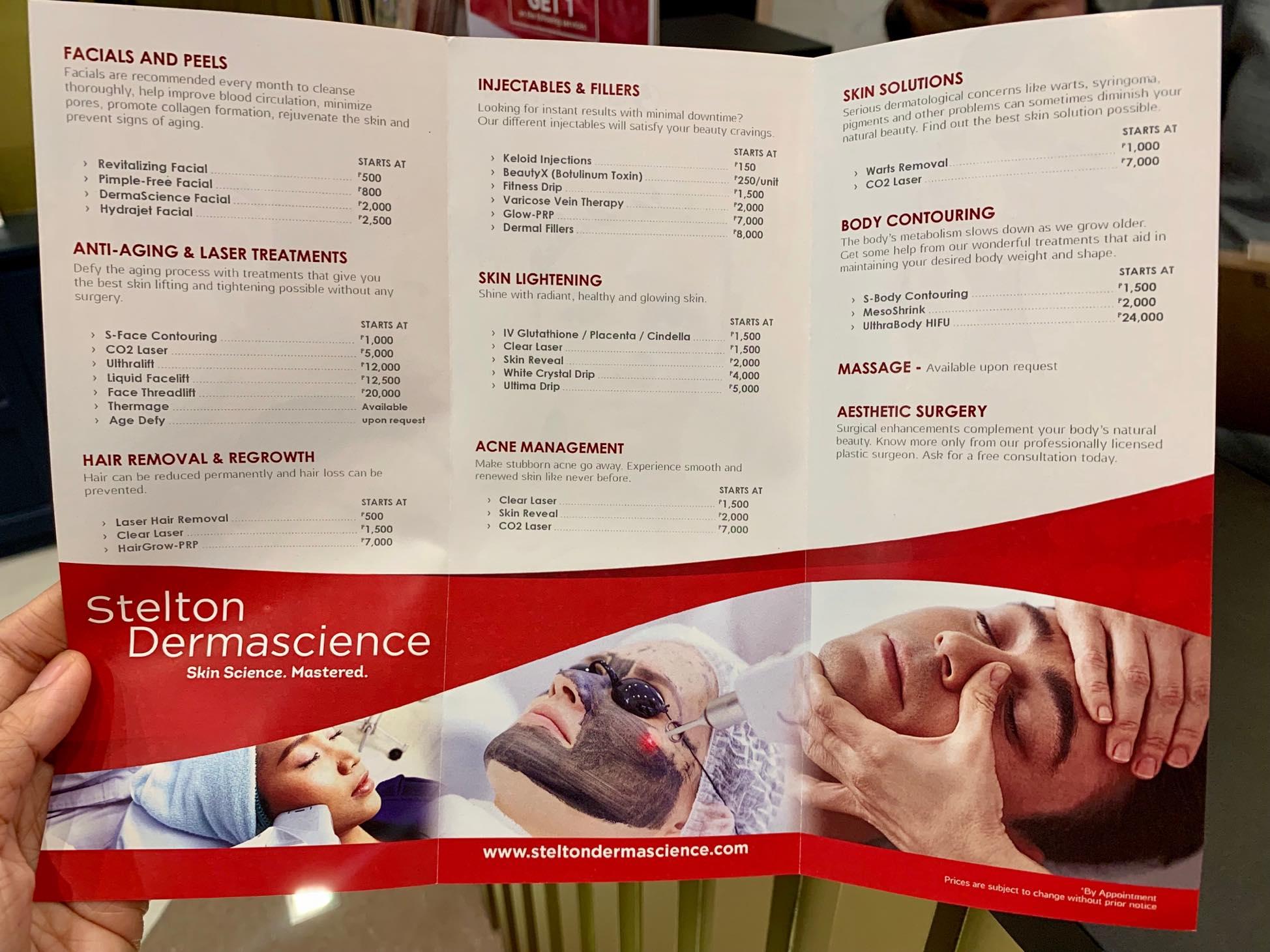 Stelton Dermoscience promo