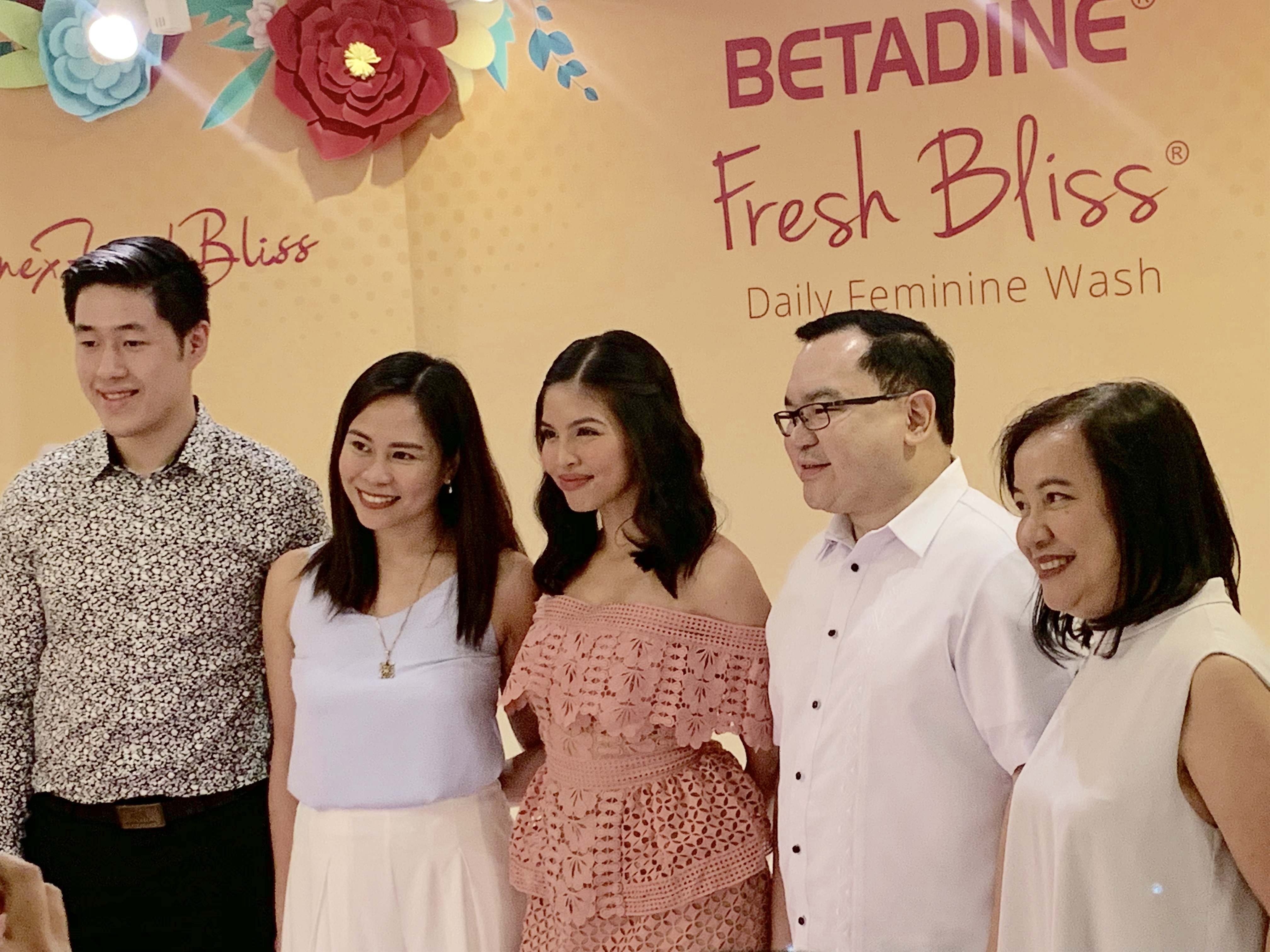 Maine Mendoza for Betadine Fresh Bliss
