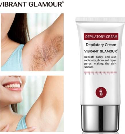 VIBRANT GLAMOUR Hair Removal Cream Painless Depilatory Cream
